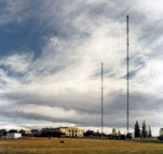 Radio transmitter masts